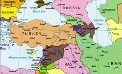 Местоположение на Турция