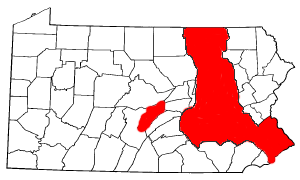 Map of Indiana hilight Oralton.png