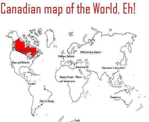 UserPinkyDinkyPoop Uncyclopedia The Contentfree Encyclopedia - World map canada