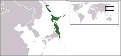 日本民主主義人民共和国の位置