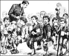 a history of the irish potato famine during the middle of nineteenth century Irish immigrants: early nineteenth century immigration  as the middle of the century approached the potato blight created famine in ireland in the years 1845 to .