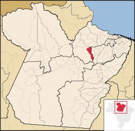 Localização de Bagre