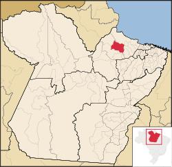 Localização de Anajás