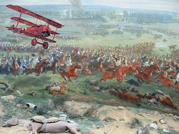 The Baron at the Battle of Waterloo