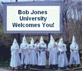 bju dating rules Bju did not admit black students until the 1970s the school lost its tax-exempt status in 1983 after a 13-year battle with the internal revenue service, which said the school's policies violated federal lawthe school had justified its ban on interracial dating by saying that god created people differently for a reasongeorge w bush spoke at the.