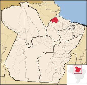 Localização de Afuá