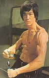 "Bruce Lee once asked his opponent, ""What does it feel like to be Baby Fu-ed?""."
