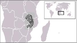 Localização de República da Fácil Adoção de Malawi