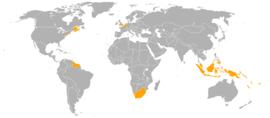 Localização de Holanda