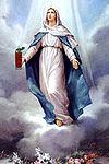 The Virgin Mary with a Virgin Mary