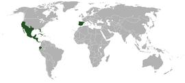 Localização de México