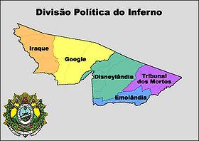 Localização do República Fictícia do Acre