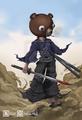 Afro Samurai Kuma by AlexaSharlOt.png