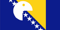 Bandeira de Bosnia e Hercegovina