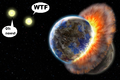In a binary star system, a rocky and a earthlike planet expirence collision.png