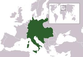 Localização de Áustria