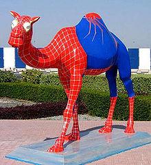Camelo do Homem Aranha.