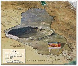 Localização de Iraque (Iracabum)
