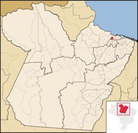 Localização de Colares