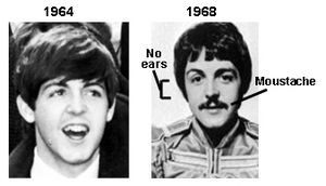 The Startling Transformation Of Paul McCartney