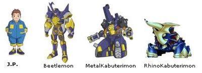Digimon Frontier Rhinokabuterimon RhinoKabuterimon - Des...