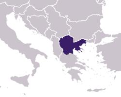 Местоположение на Българо-Албански кенеф