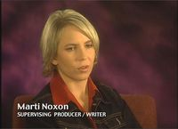 Marti Noxon interviewed on a Buffy The Vampire Slayer DVD featurette