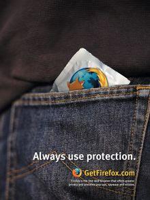 Versão camisinha do Mozilla Firefox, boa pra quem gosta de coisas rapidinhas