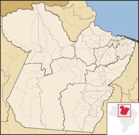 Localização de Marituba