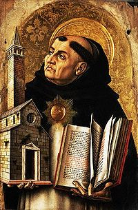 Tales about Thomas Aquinas are often exaggerated, saying that he is 400 feet tall and that his Summa Theologica weighs more than 5 whales.