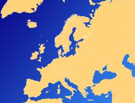 Localização de Reino Unido da Grã-Bretanha (Inglaterra)