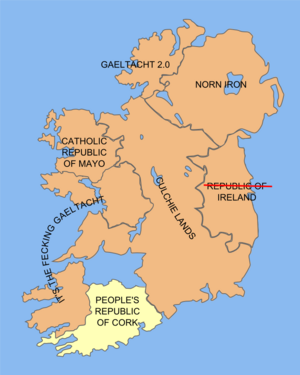 The Peoples Republic Of Cork Uncyclopedia The Contentfree - Peoples republic map