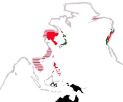 日本の位置