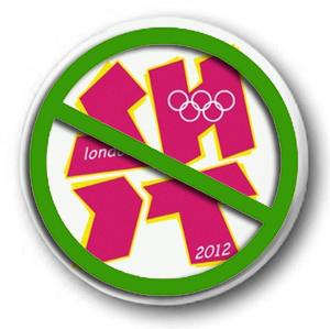 """London 2012 """"SHIT"""" logo"""
