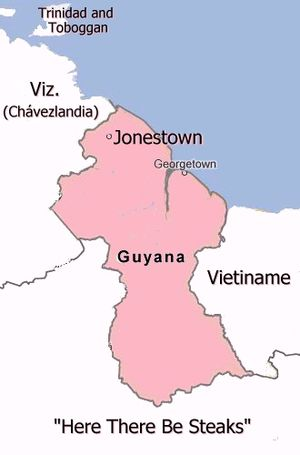 Guyana uncyclopedia the content free encyclopedia guyana mapg sciox Images