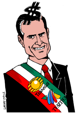 Official Portrait of the 57th President of Mexico, Enrique Peña Nieto