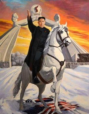 Kim Jong-un ratsailla.JPG