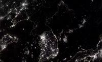Korean niemimaa yöllä.JPG
