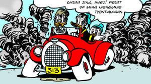 Aku Ankka Auto