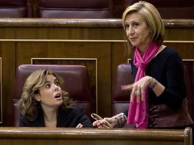 Ficheiro:Soraya Sáenz e Rosa Díez.jpg