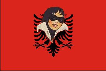 Ficheiro:Bandeira de Albania.png