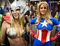 Thor e Capitán América femininas.jpg