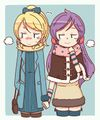 Eli e Nozomi lesbicandose.jpg
