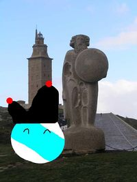Galizaball na Torre de Hércules.jpg