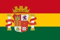 Bandeira de Bolivia colonia.png