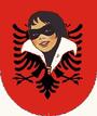 Escudo de República kosovar de Albania