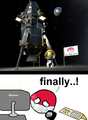 Polandball in space.png