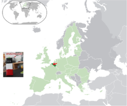 Mapa de Bélxica na UE.png