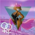 Foxy Roxy lesbian pride.png