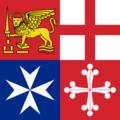 Bandeira da Comunidade das Repúblicas Marítimas de Italia.png